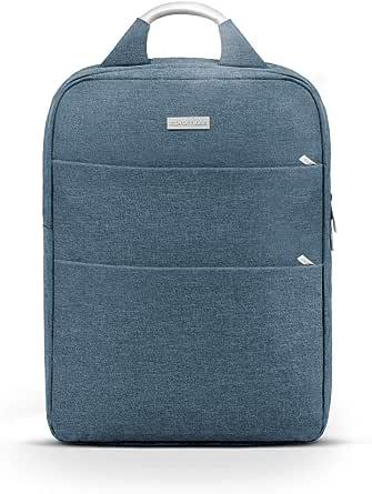 حقيبة ظهر لاجهزة اللاب توب من برومايت ، متعددة الوظائف مقاومة للماء بحجم 15.6 انش بجيوب منظمة مضادة للسرقة واحزمة مبطنة ومقبض للحمل، لاجهزة اللاب توب والوثائق، ازرق، Nova-BP