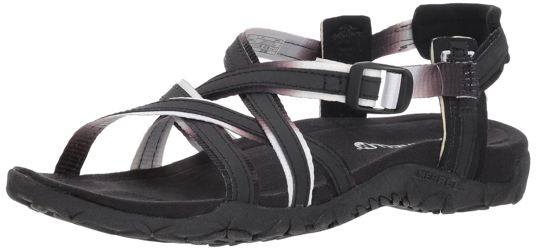 Merrell Women's Terran Ivy Lattice Sport Sandal B078NGKL8Z 8 B(M) US|Black