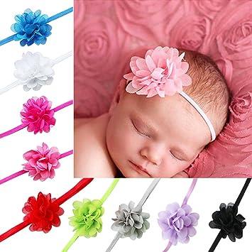 SchöN Süße Farben Blumen Haarband Für Mädchen Nette Silk Floral Haar Bands Kinder Haar Bogen Stirnband Haar Zubehör Für Frauen Accessoires Mutter & Kinder