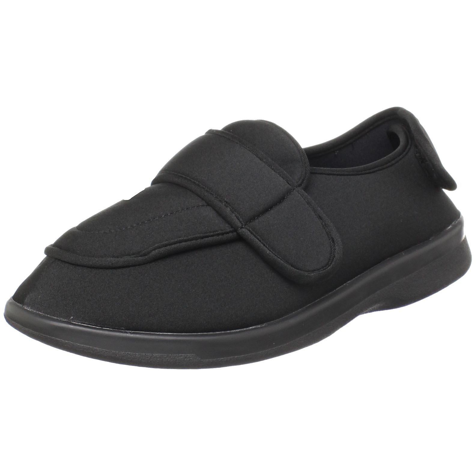 Propet Men's M0095B Cronus Sneaker,Black,12 5E US