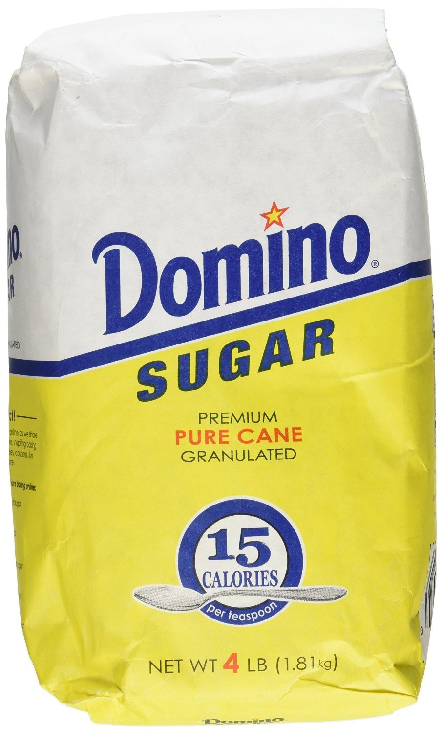 Domino Premium Pure Cane Granulated Sugar, 64 Ounce