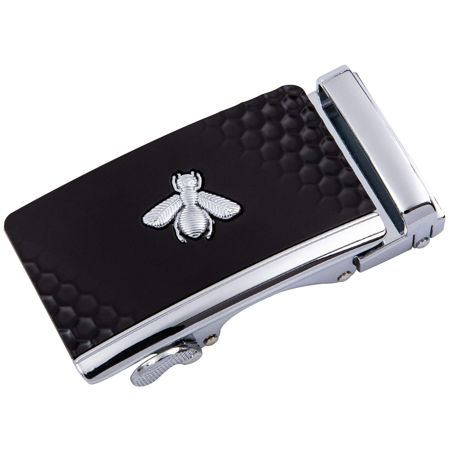 Barry.Wang Designer Belts for Men Nickel-Free Automatic Buckle Alloy Genuine Leather Strap Adjustable