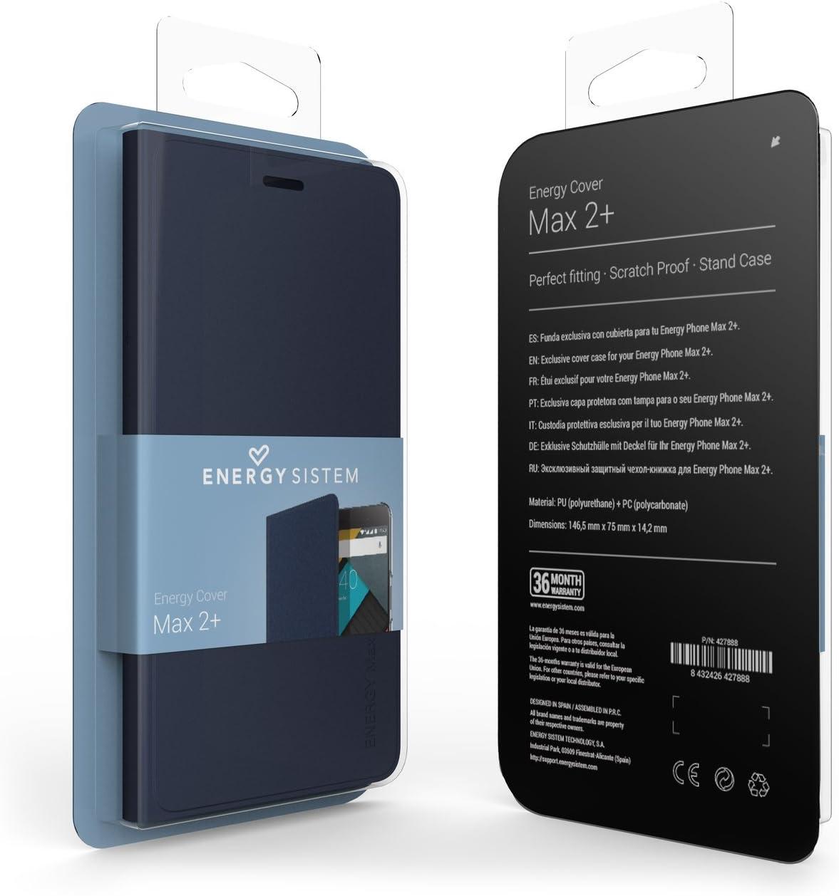 Energy Sistem MAX 2+ - Cubierta para Smartphone MAX 2+, Color Azul ...