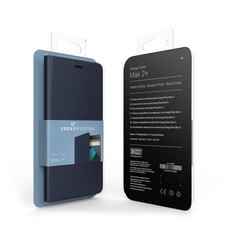 Energy Sistem MAX 2+ - Cubierta para Smartphone MAX 2+, Color Azul