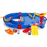 Jada Toys AquaPlay Ryan's World Water Playset, Indoor and Outdoor Water Toy, Red and Blue Water Table, 2 Characters, 2 Boats