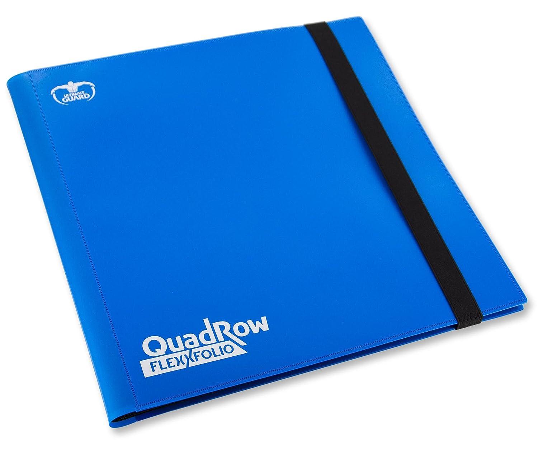 Ultimate Guard 12-Pocket Quadrow Flexxfolio Album (Bleu) UGD010349