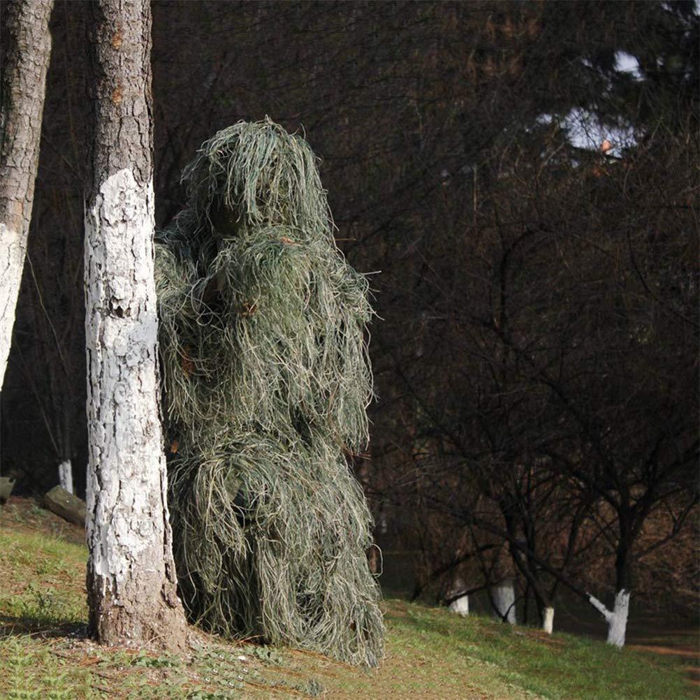 Dbtxwd Jungle Camuflaje Traje de Invisibilidad, Traje de Ropa de ...