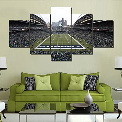 Amazon.com: Native American Wall Art Seattle Seahawks Football ...