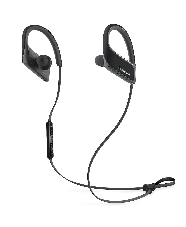 Panasonic RP-BTS30E-K - Auriculares (Binaurale, USB, Gancho de Oreja, Bluetooth, Intraaural), Color Negro: Amazon.es: Electrónica