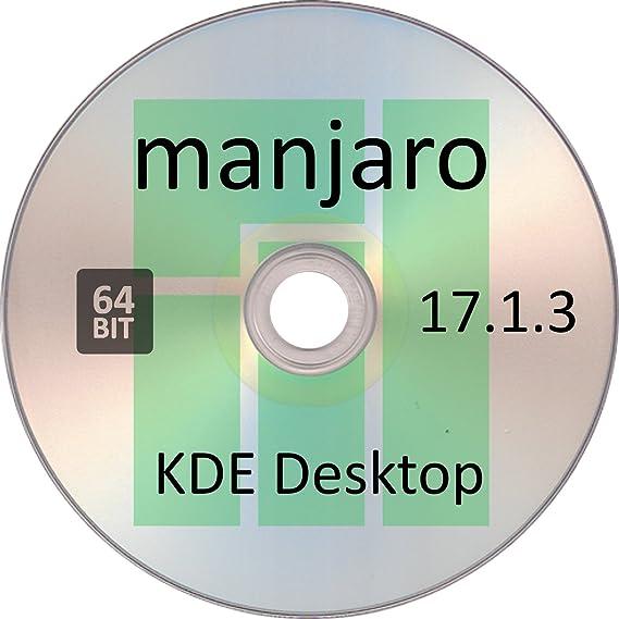 Amazon com: Manjaro Linux 17 1 3, KDE Desktop, 64 Bit: Software