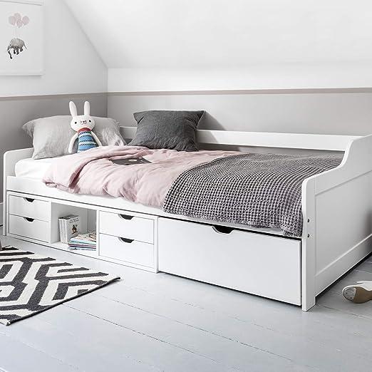 Eva Day - Cabina de cama con cajones extraíbles