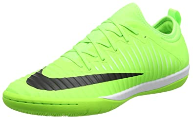Nike Men's MercurialX Finale II IC Football Boots, Green (Flash Lime/Black-
