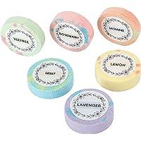 Blesiya Aromatherapie Douche Steamers-Verscheidenheid Set van 6x Douche Bommen voor Ontspanning. Douche Bom Smelt voor…