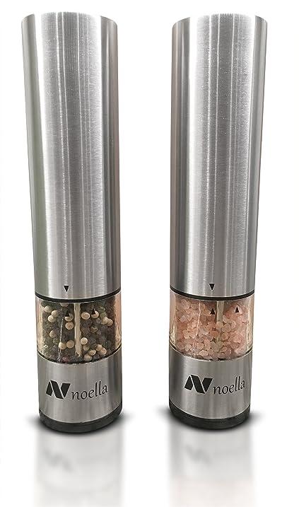 Amazoncom 1 Automatic Salt and Pepper Grinder Set Best
