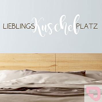 DESIGNSCAPE® Wandtattoo Lieblingskuschelplatz | Wandtattoo fürs ...