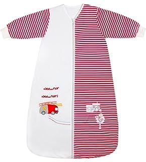 Slumbersafe Winter Kid Sleeping Bag Long Sleeves 3.5 Tog - Fire Engine, 3-6