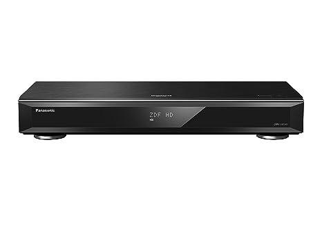 Panasonic DMR-UBS90EGK Ultra HD Blu-ray Recorder (2TB HDD, 4K Blu-ray Disc Wiedergabe, UHD TV Satellitenempfang, 3x DVB-S2)