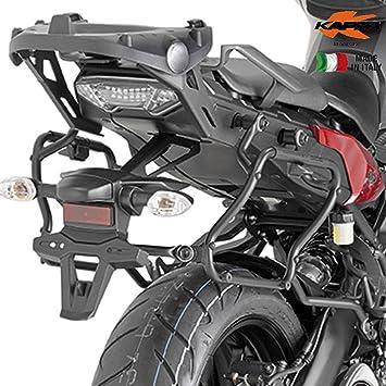 Kappa - Klxr2122 Soporte para Maletas Laterales Yamaha mt-09 Tracer (2015): Amazon.es: Coche y moto
