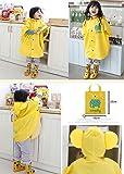 Hibety Kids Raincoat Yellow Lightweight