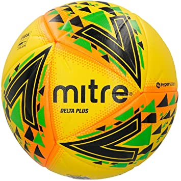 Mitre Delta Plus Balón de Fútbol Profesional, Unisex Adulto ...