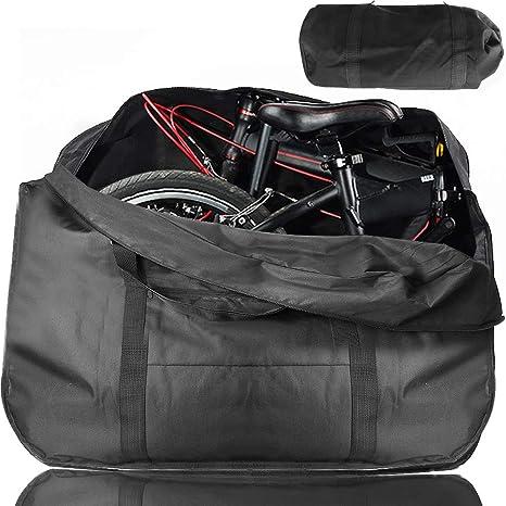 ODSPTER - Bolsa plegable para bicicleta (35 a 20 pulgadas): Amazon.es: Deportes y aire libre