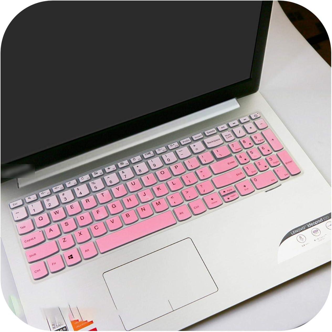 for Lenovo Ideapad 520 520 15 520 15Ikb 520 15Ikbr 720 720 15Ikba 720 15Ikbr 15.6 Inch 15 Laptop Notebook Keyboard Cover Skin-Black