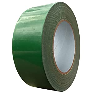 Exa Duct Tape 1.88 Inches x 60 Yards, Duct Tape for Crafts, Extra Strength, No Residue, DIY, Repairs, Indoor Outdoor Use, Book Repair, Must Have Garage Tool (1.88 X 60 Yards, Grass Green)