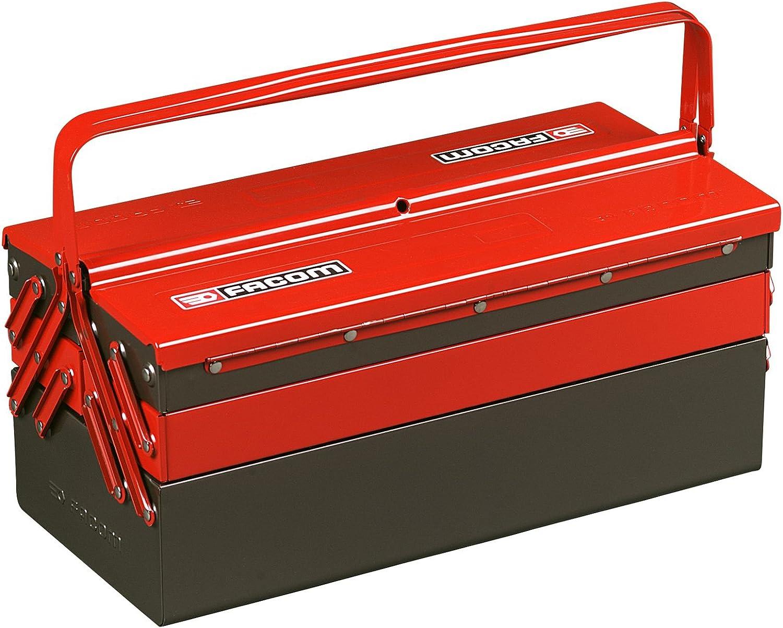 FACOM BT.11PG - Caja de herramientas de 5 compartimientos: Amazon ...