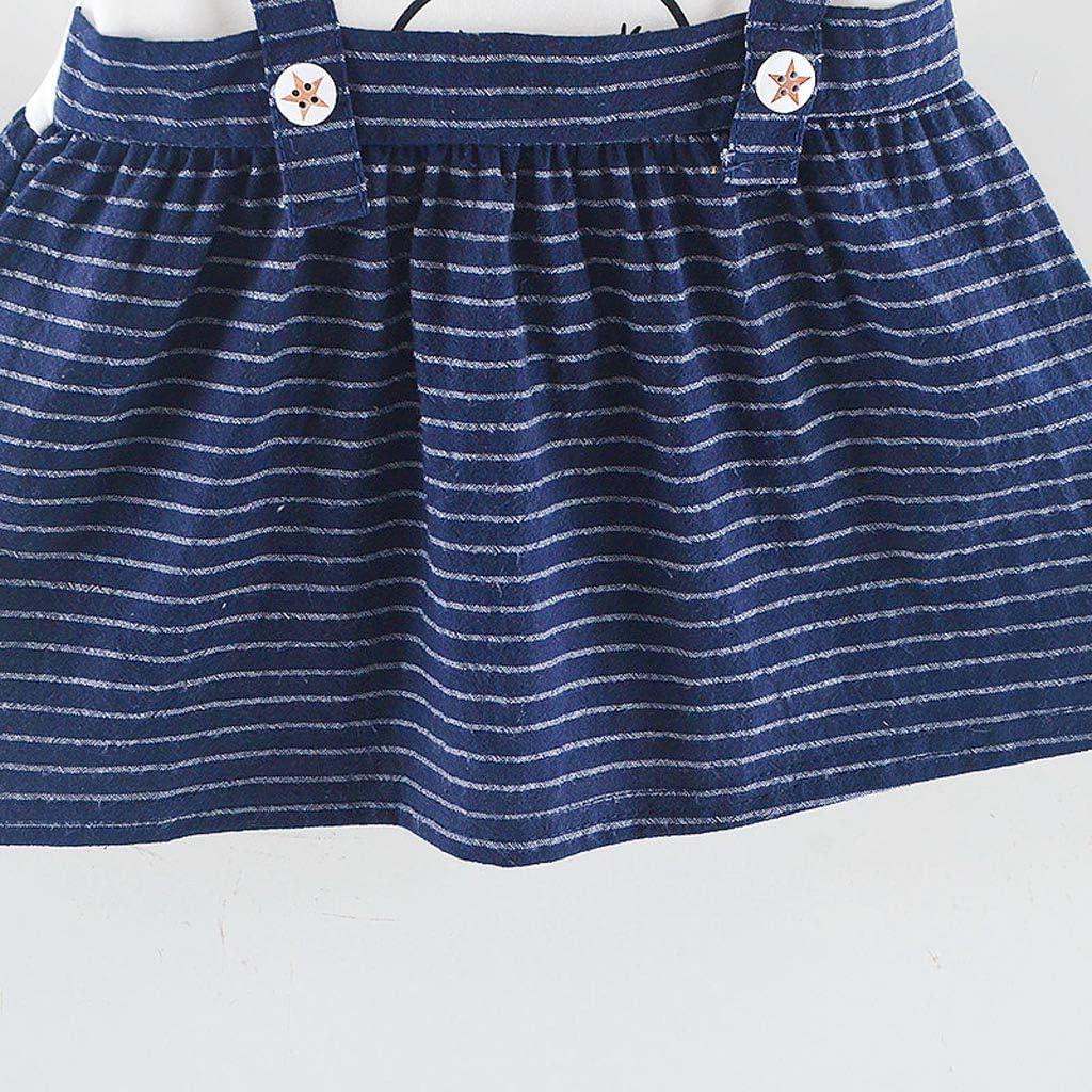6-12 Months, Dark Blue//Bunny BSGSH Cute Newborn Baby Girls Plaid Bowknot//Duck//Bunny Patchwork Dresses Summer 0-24 Months