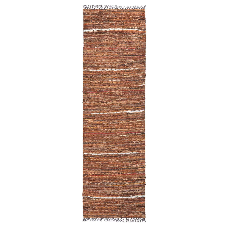 Home Furnishings by Larry Traverso Tucsonコレクション 2.5 x 8-Feet ブラウン TR0008  Hallway Rug Runner, 2.5 x 8-Feet B010MC7O86