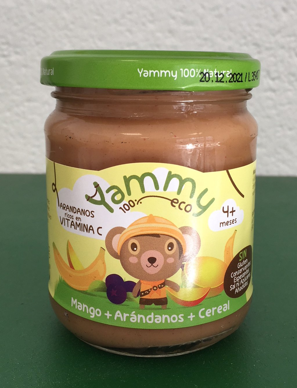 Yammy - Pack Potito Vegano: Frutas Comida Verduras + Galletas Sin Azúcar Mini Letras Pack 12 Unidades...: Amazon.es: Alimentación y bebidas