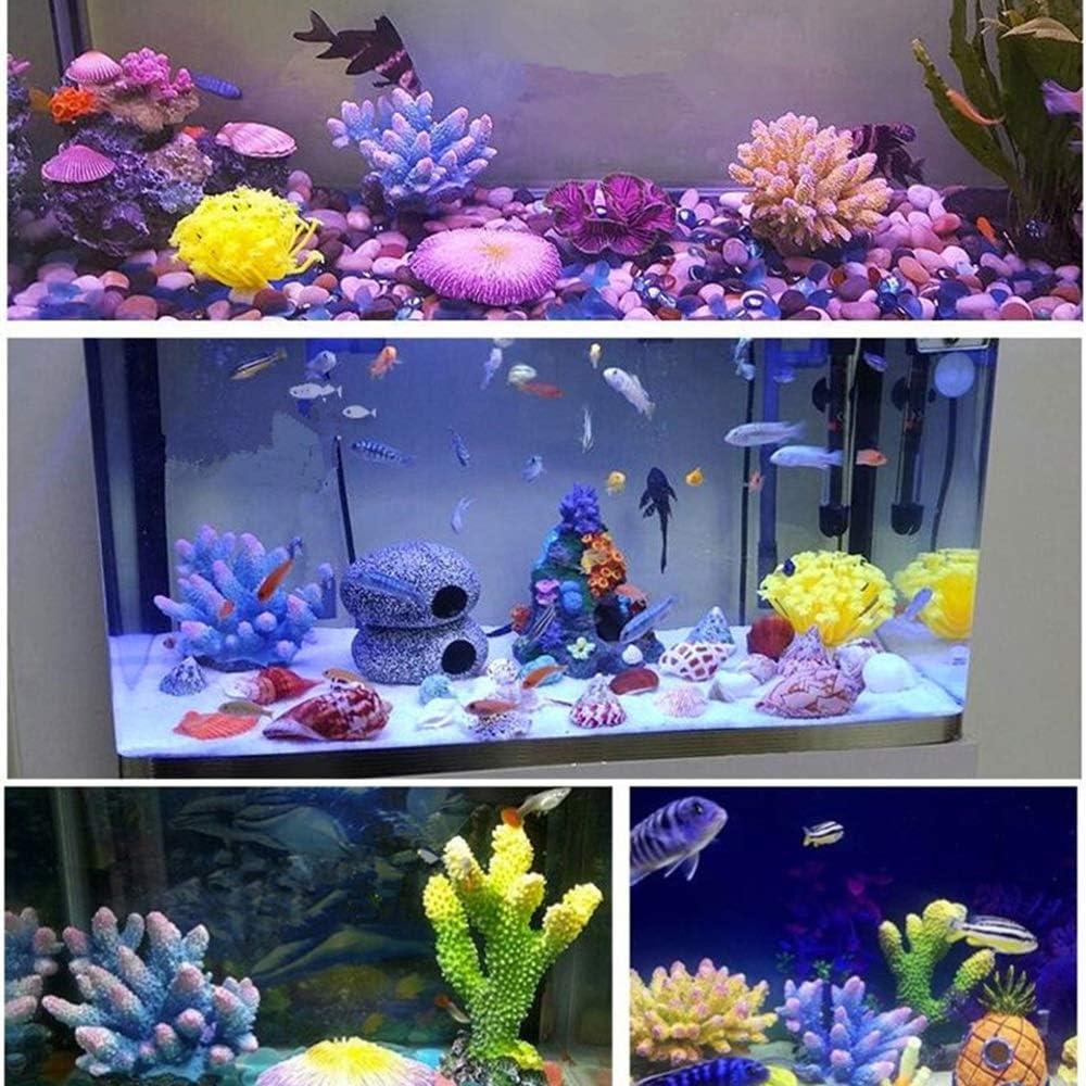 Ogquaton White Coral Aquarium Decoration Aquarium Landscaping Ornament Fish Tank Decorative Supplies