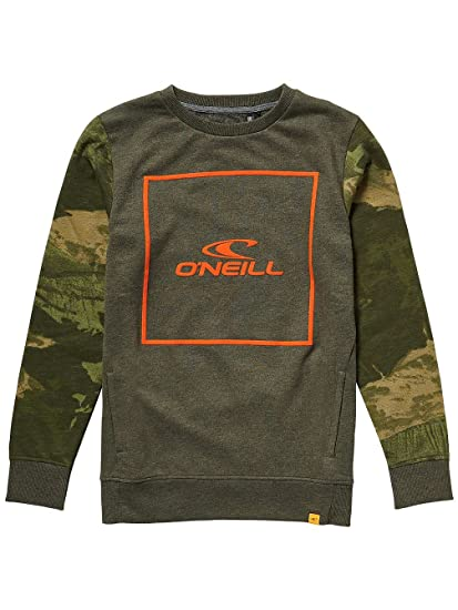 ONeill Search Sudadera, Infantil, Verde Oscuro, ...