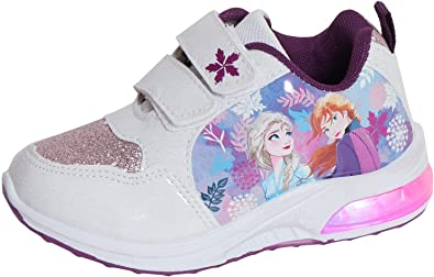 Disney Girls Frozen 2 Light Up Trainers
