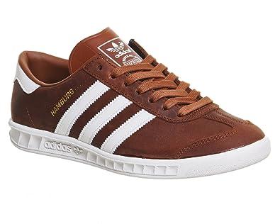 064877afab34a5 adidas Hamburg Herren Sneaker Braun  Amazon.de  Schuhe   Handtaschen