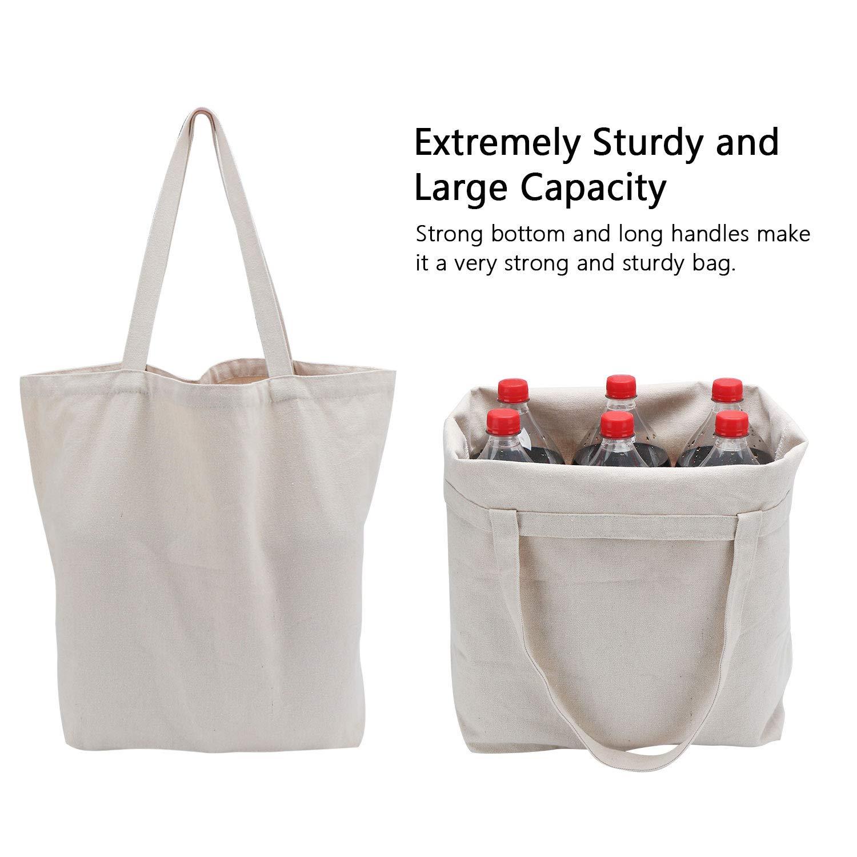 Amazon.com: Bolsas de comestibles reutilizables, grandes ...