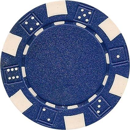 Da Vinci 50 Clay Composite Dice Striped 11.5-Gram Poker Chips Yellow New Fast