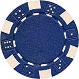Da Vinci 50 Clay Composite Dice Striped 11.5-Gram Poker Chips