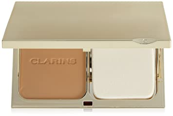 Clarins Everlasting Compact Foundation Spf 15 - # 112 Amber --10g/0.35oz By Clarins