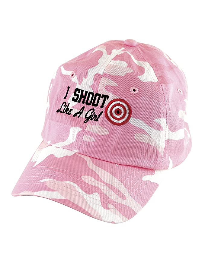 amazon shoot like girl baseball cap pink camouflage embroidered clothing caps for big heads canada men sale australia
