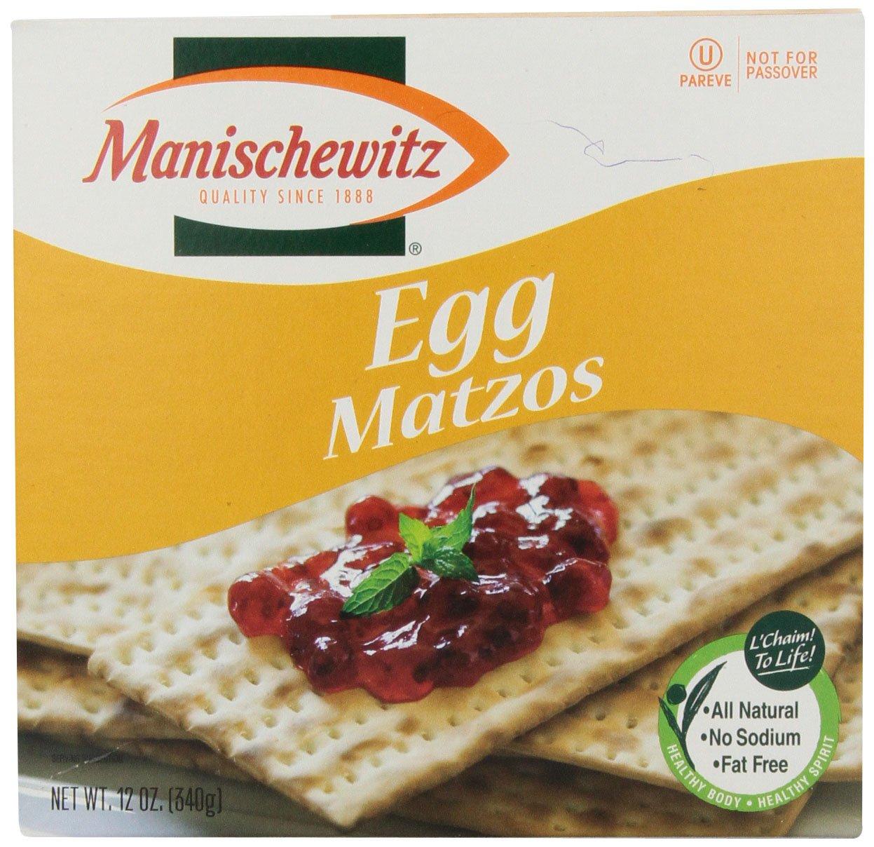 Manischewitz Egg Matzo, 12 oz