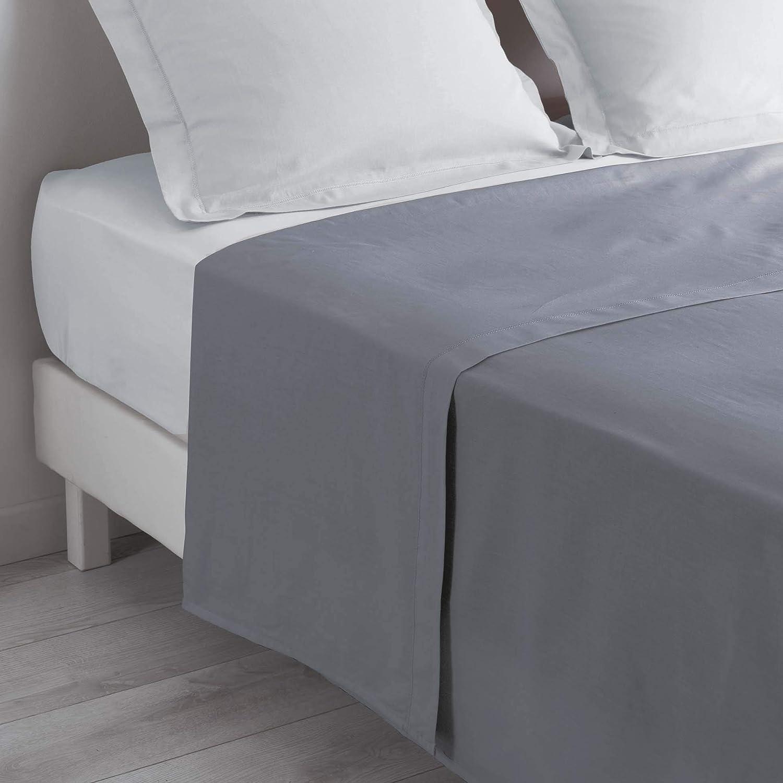 Drap de lit pas cher, haute qualité, 100% coton, lit 2 places
