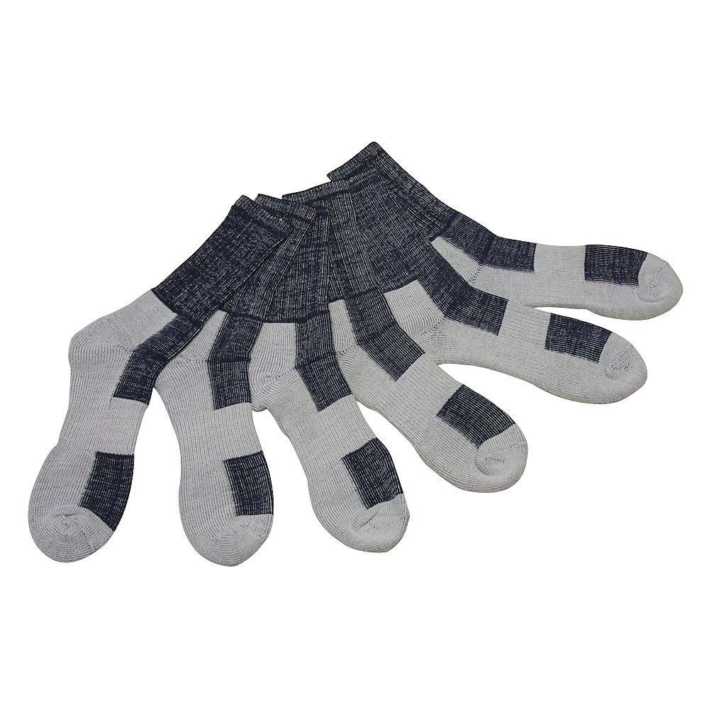 BILT Moto Socks 3 Pack - One Size, Blue
