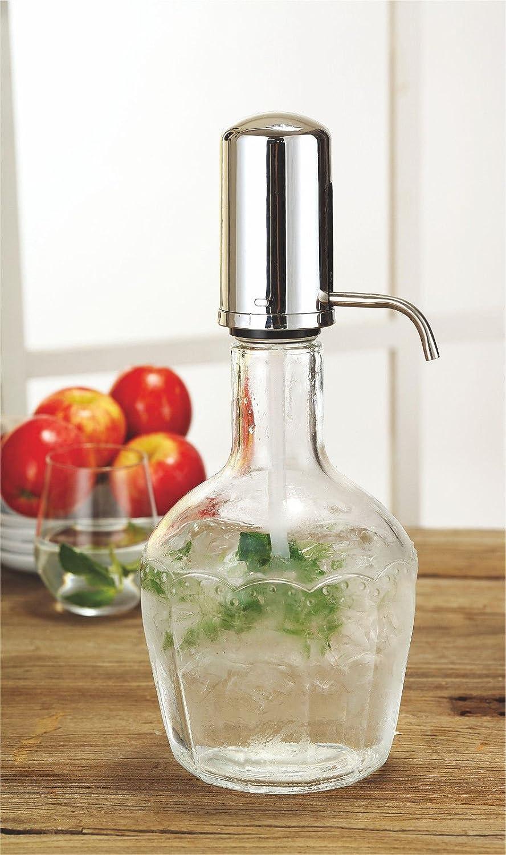 Cristal dispensador De Bebidas tarro 2,1L cóctel de bebidas agua zumo Punch fiesta bebidas: Amazon.es: Hogar