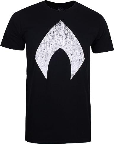 DC Comics Aquaman Logo Camiseta para Hombre: Amazon.es: Ropa y accesorios