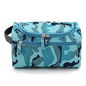 25acb84da827 Yiuswoy Portable Polyester Wash Bag Toilet Bag Organiser Cosmetic ...