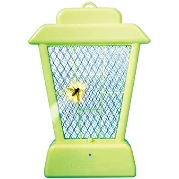 Clear Innovation Lantern Bug Zapper - Mosquito Insect Killer Hanging/Table Top Battery Powered