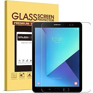 SPARIN Galaxy Tab S3 / Galaxy Tab S2 9.7 Screen Protector - S Pen Compatible/