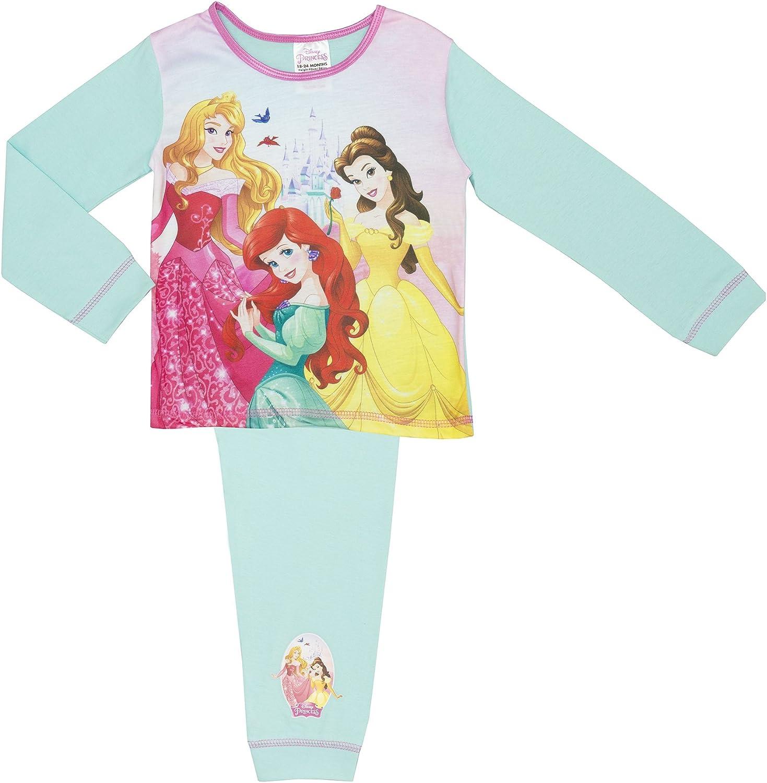 Girls Kids Disney Cinderella Pyjamas Set Nightwear sleepsuit  1 2 3 4 5 Years