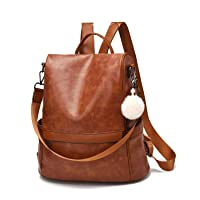Deals on Cheruty PU Leather Anti-theft Womens Casual Shoulder Bag